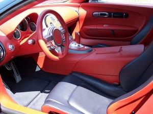 Bugatti Veyron Hermes interior